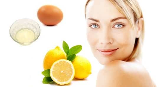 Egg-White-Face-Mask-with-Lemon-for-Oily-and-Acne-Skin
