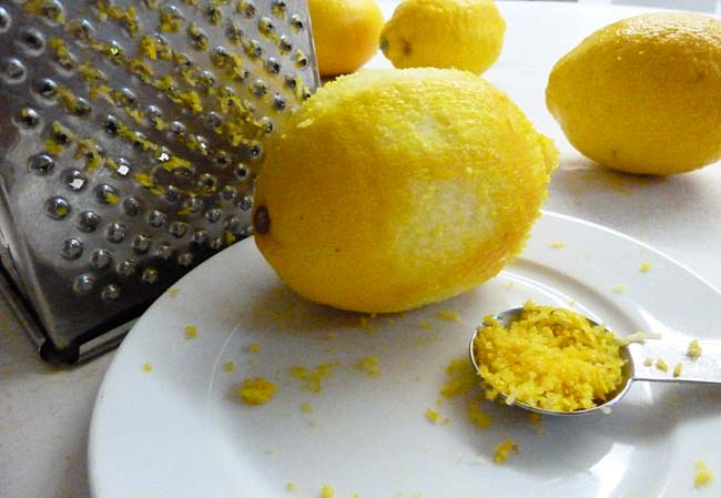 Grated Lemon Rind