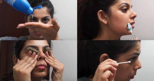 အစက္အေပ်ာက္ေတြကင္းစင္တဲ့ မ်က္ႏွာအသားအေရအတြက္ ညအိပ္ယာမ၀င္ခင္ သဘာ၀နည္းလမ္းအတိုင္း Skincare လုပ္မယ္